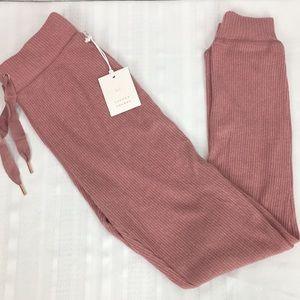 Lauren Conrad Mauve Comfy Lounge Pants New